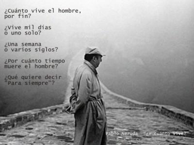 Poema - Pablo Neruda (Foto)