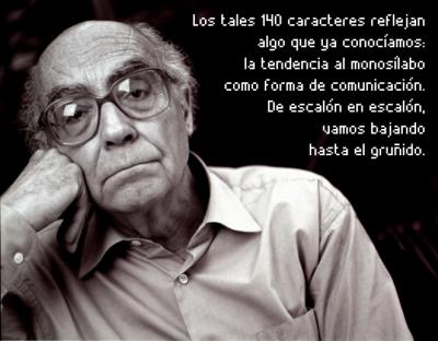 José Saramago y Twitter